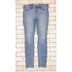Hollister Distressed Skinny Jean Leggings 7 Long